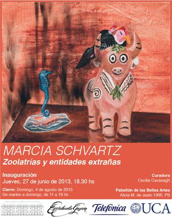 Marcia Schvartz, Zoolatrías y entidades extrañas