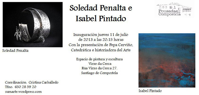 Soledad Penalta e Isabel Pintado