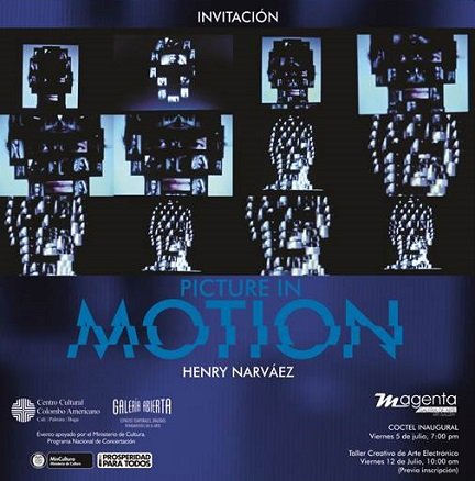 Henry Narváez, Picture in motion