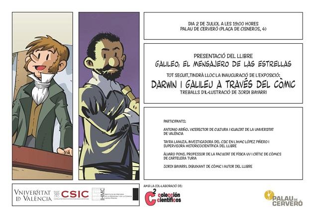 Jordi Bayarri, Darwin i Galileo  a través del còmic