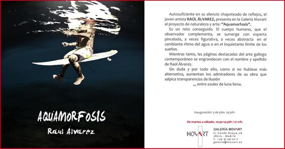 Aquamorfosis RAÚL ÁLVAREZ