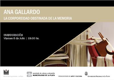 Ana Gallardo, La corporeidad obstinada de la memoria