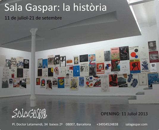Sala Gaspar, la història