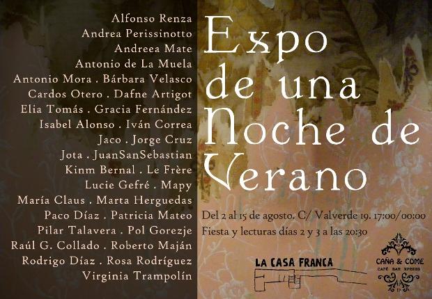 Cartel de Expo de una Noche de Verano