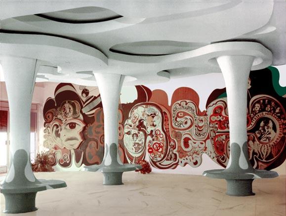 Juarez Paraíso, Mural no Cine Tupy, 1968