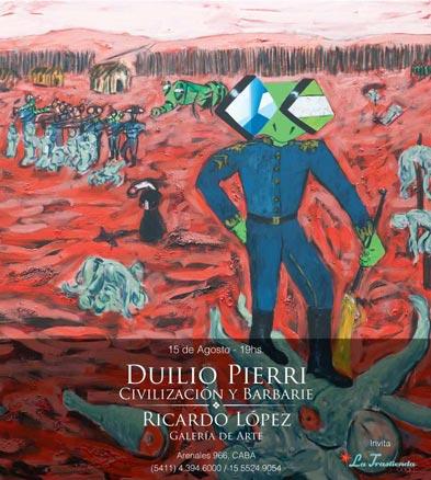 Duilio Pierri, Civilización y barbarie