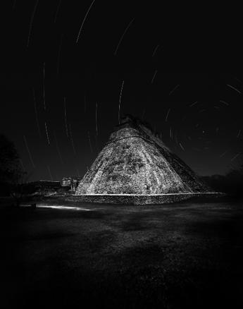 Tomás Casademunt, Pirámide del Adivino, 2009