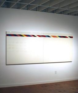 Una de las obras de la muestra