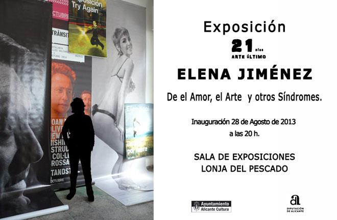 Elena Jiménez, De el Amor, el Arte y otros Síndromes