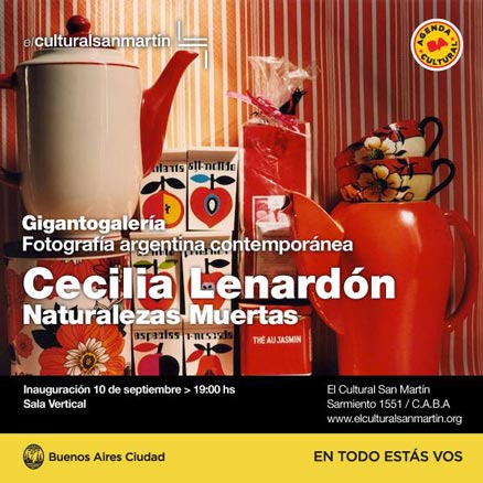 Cecilia Lenardón, Naturalezas Muertas