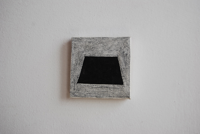 Ghost Painting 55 After Agnes Martins Homage to Life, 2003 2013