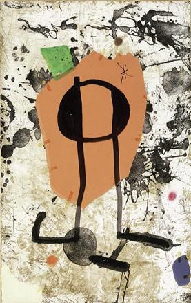 Joan Miró, Els Gossos, 1979