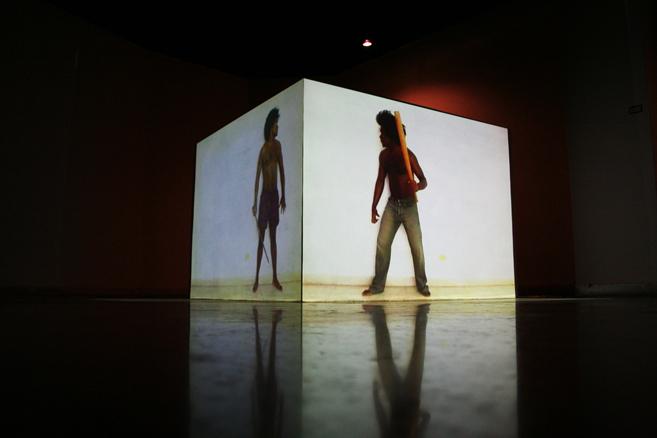 Alexandre Arrechea, White Corner, 2006