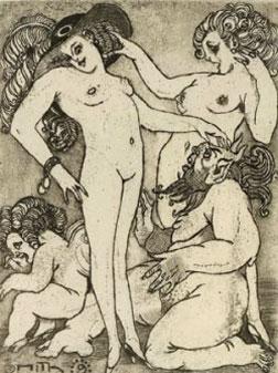 Ismael Smith, La primera vanitat, Barcelona, 1909