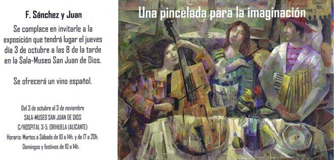 Fernando Sánchez y Juan, Una pincelada para la imaginación