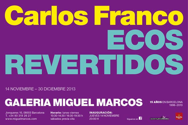 Carlos Franco, Ecos revertidos