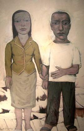 Paco Ñiguez, Retrato en blanco IV, 2001