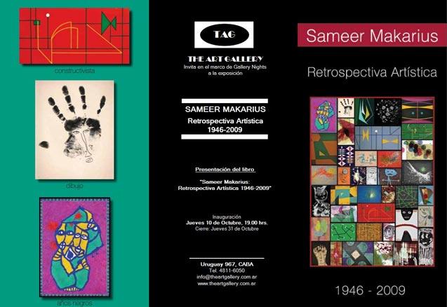 Sameer Makarius. Retrospectiva Artística
