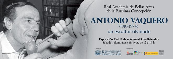 Antonio Vaquero 1910-1974, un escultor olvidado