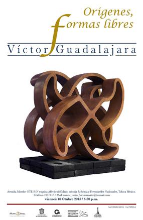 Víctor Guadalajara, Orígenes, formas libres