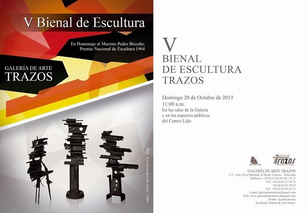 V Bienal de Escultura Trazos
