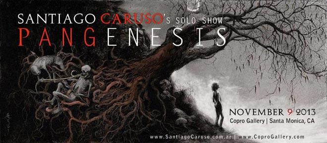 Santiago Caruso, Pangenesis