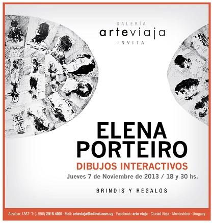 Elena Porteiro. Dibujos interactivos