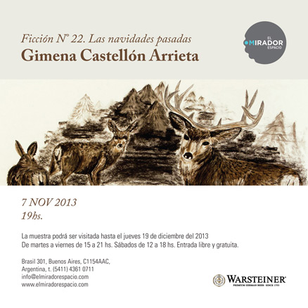 Gimena Castellón Arrieta, Ficción No. 22, Las navidades pasadas