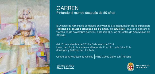 Garren. Pintando el mundo después de 50 años