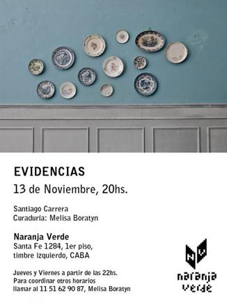 Santiago Carrera, Evidencias