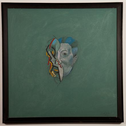 Marcelo Cipis, Pablo Picasso e Diego Rivera, 1987