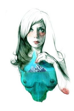 Paula Bonet, Mujer-iceberg, 2013