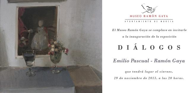 Diálogos. Emilio Pascual - Ramón Gaya