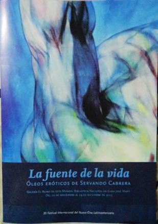 Servando Cabrera, La fuente de la vida
