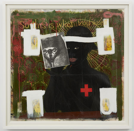 Kerry James Marshall, So This Is What You Want, 1992