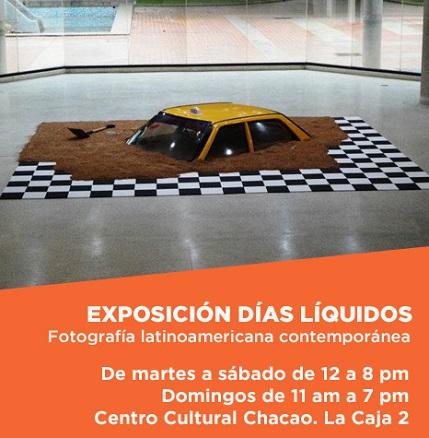 Días líquidos. Una instalación de Carlos Zerpa