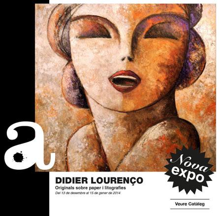 Didier Lourenço. Originals sobre paper i litografies