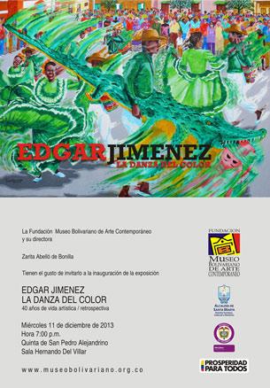 Edgar Jiménez, La danza del color