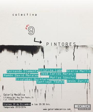 Colectiva 9 pintores