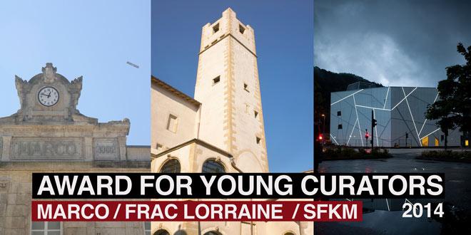 Premio MARCO-FRAC Lorraine-SFKM para jóvenes comisarios 2014
