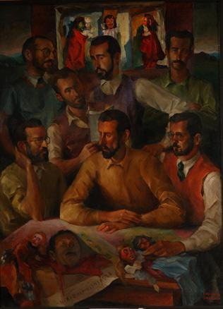 Enrique de Larrañaga, Los siete titiriteros, 1943