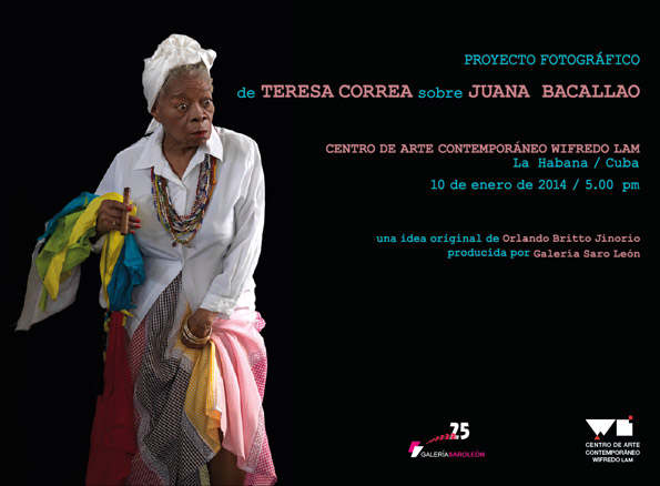 Proyecto Fotográfico de Teresa Correa sobre Juana Bacallao