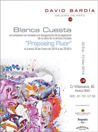 Blanca Cuesta, Proposing Fluor