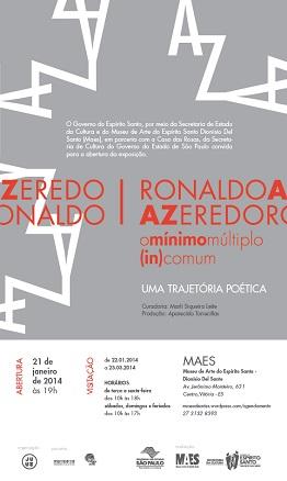 Ronaldo Azeredoo mínimo múltiplo -in-comum - uma trajetória poética