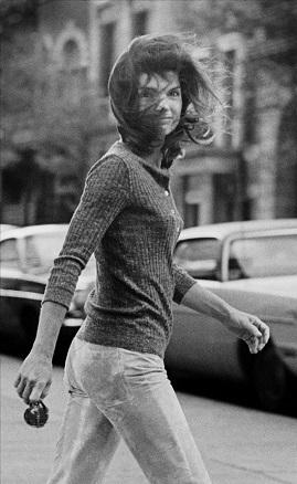 Ron Galella, Windblown Jackie, 1971, Nueva York