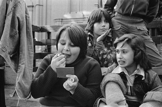 Susan Meiselas, Carol, Pina and Lisa, 1976