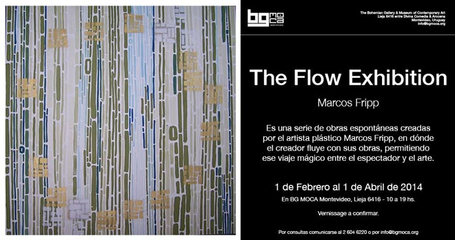 Marcos Fripp, The Flow Exhibition