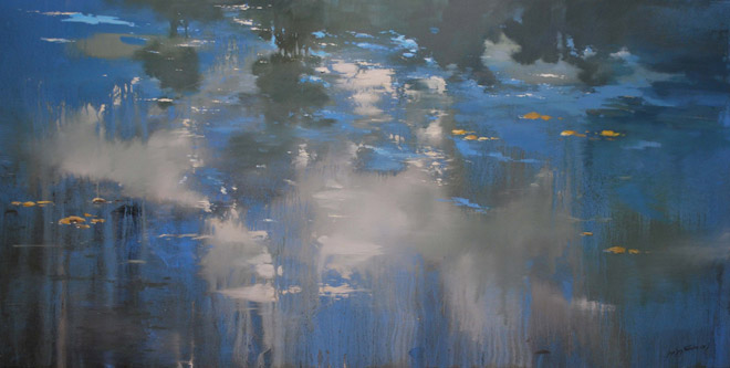 Jose Luis Navarro, Reflejo azul