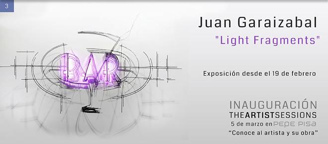 Juan Garaizabal, Light Fragments