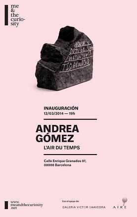 Andrea Gómez, L´air du temps